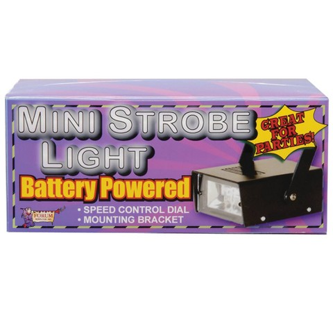 Mini Strobe - Battery Operated No Sound