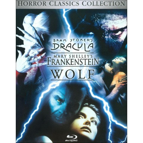 Bram Stoker's Dracula/Mary Shelley's Frankenstein/Wolf (3 Discs) (Blu-ray)