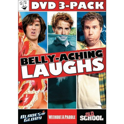 Blades of Glory/Old School (Unrated)/Without a Paddle (3 Discs)