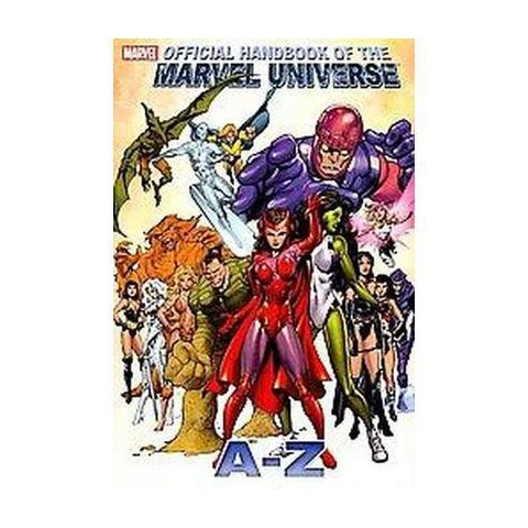 Official Handbook of the Marvel Universe a to Z 10 (Hardcover)