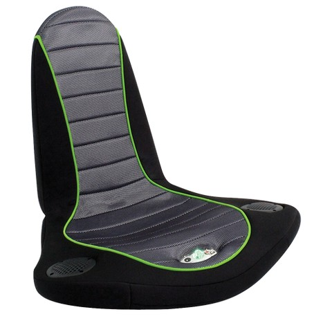 "BoomChair Stingray Gaming Chair Black/Green 27"" - LumiSource"