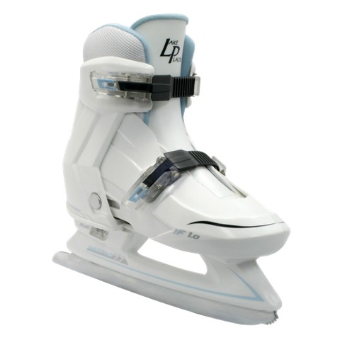 Lake Placid Nitro Girl's Adjustable Ice Skates