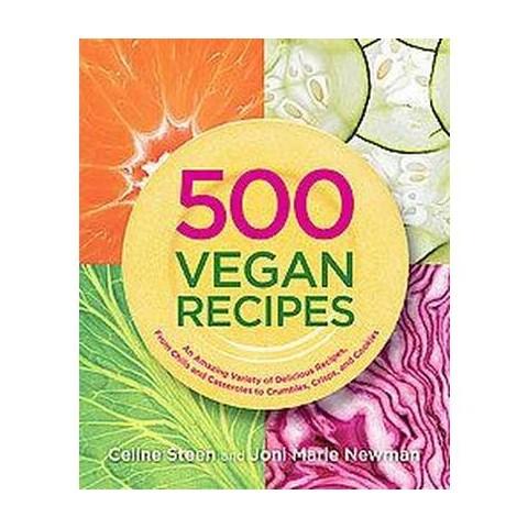 500 Vegan Recipes (Paperback)