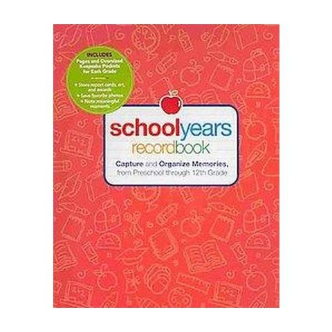 School Years Record Book (Notebook / blank book)