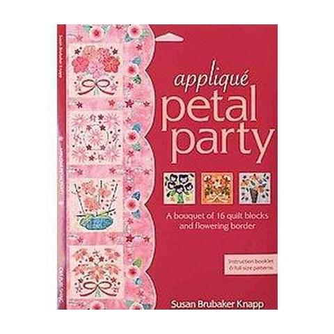 Applique Petal Party (Book)