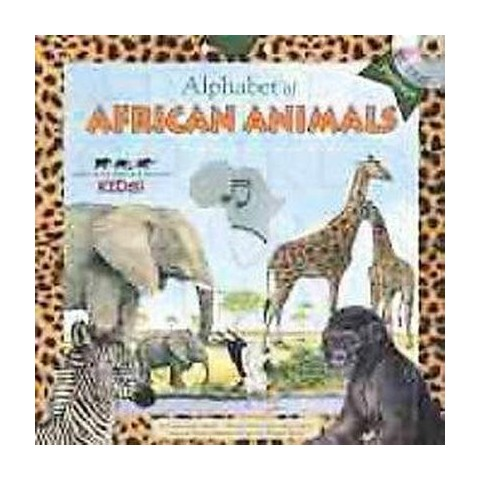 Alphabet of African Animals (Mixed media product)
