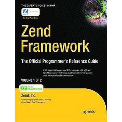 Zend Framework (Paperback)