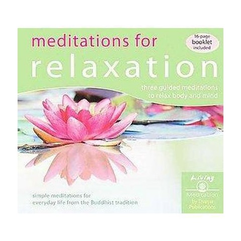 Meditations for Relaxation (Compact Disc)