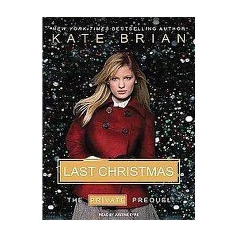Last Christmas (Unabridged) (Compact Disc)