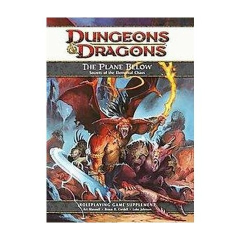 Dungeons & Dragons the Plane Below (Hardcover)