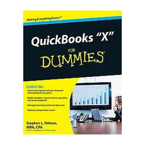 QuickBooks 2010 For Dummies ( For Dummies Series) (Paperback)