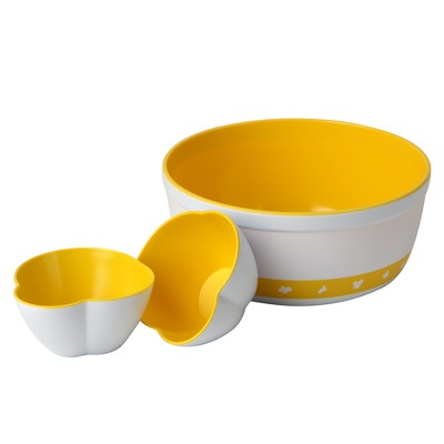 Whirley Pop Warm Buttery Popcorn Bowl Set
