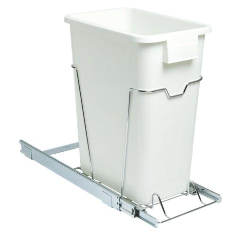 "Household Essentials 19"" Sliding Trash Can"