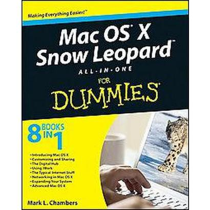 MAC OS X Snow Leopard All-In-One for Dummies (Original) (Paperback)