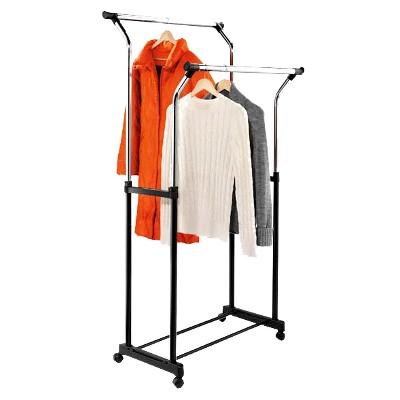 Flared Double Garment Rack