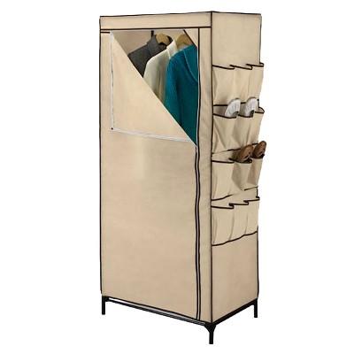Honey-Can-Do 27  Portable Storage Closet with Shoe Organizer