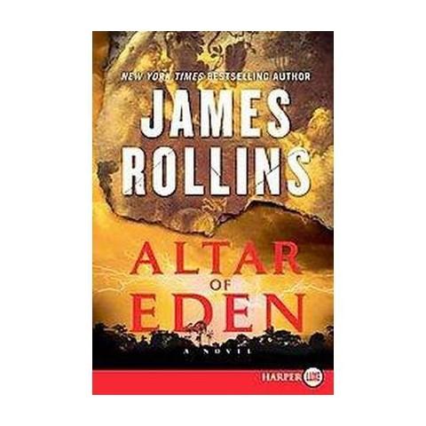 Altar of Eden (Larger Print) (Paperback)