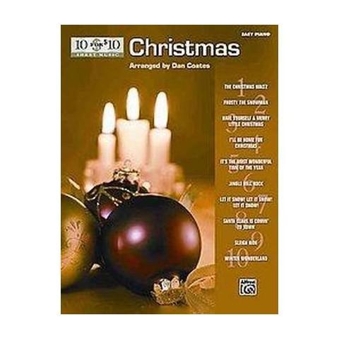 10 for $10 Sheet Music Christmas (Paperback)