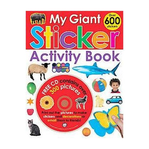 My Giant Sticker Activity Book (Mixed media product)