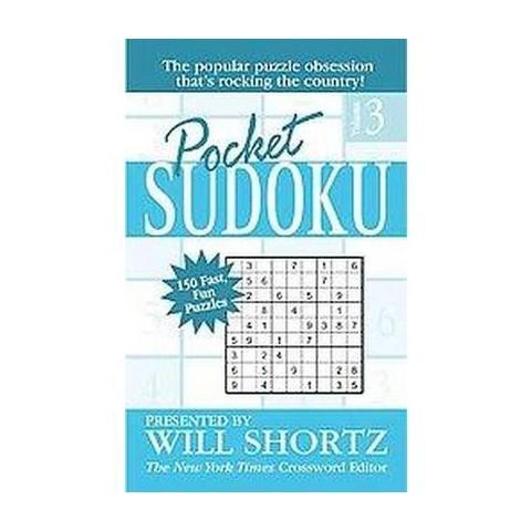 Pocket Sudoku (3) (Paperback)