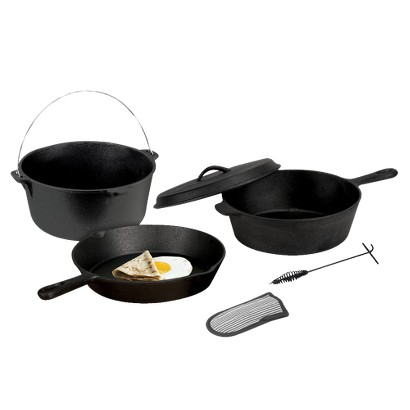 Stansport Cast Iron Cook set - Black
