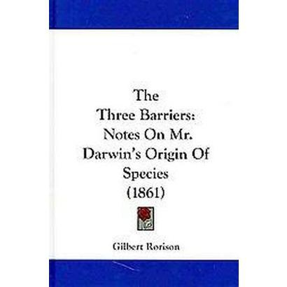 The Three Barriers (Hardcover)