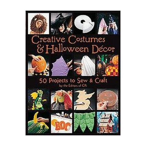 Creative Costumes & Halloween Decor (Paperback)
