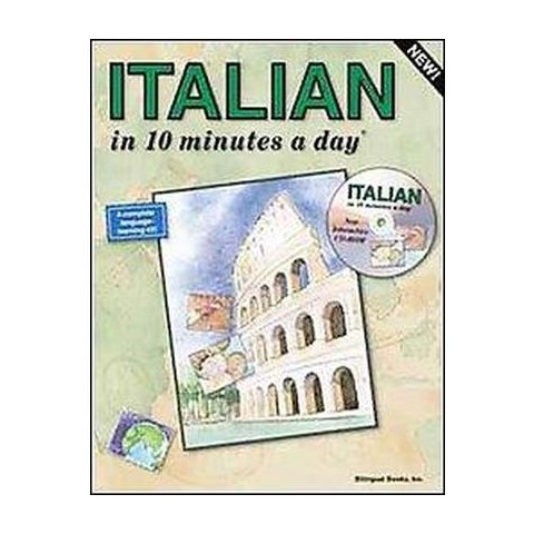ITALIAN in 10 minutes a day with CD-ROM (Mixed media product)