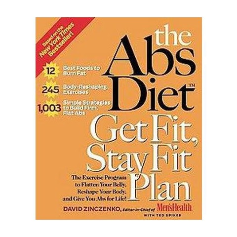 The Abs Diet Get Fit, Stay Fit Plan (Hardcover)