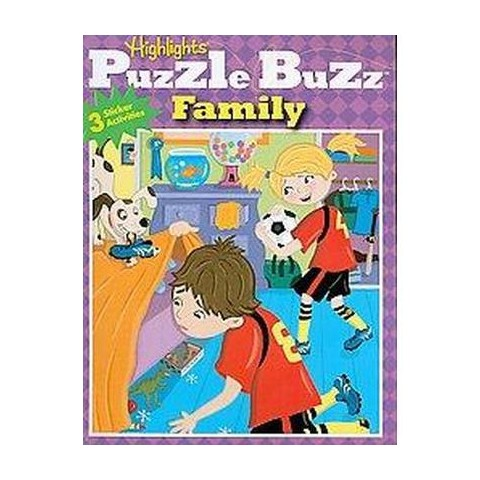 Puzzle Buzz Family (Paperback)