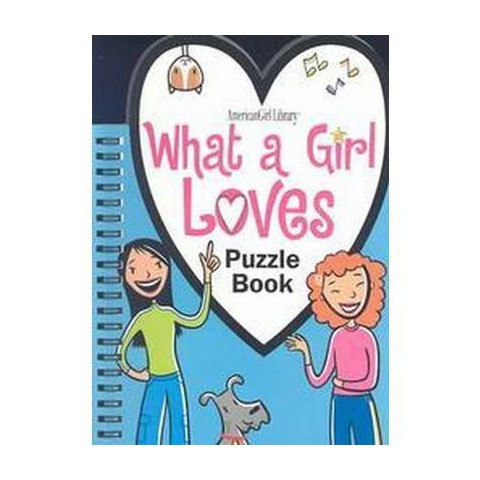 What A Girl Loves Puzzle Book (Paperback)
