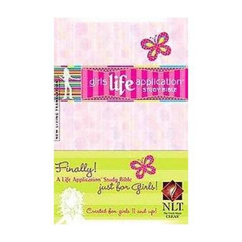 Girls Life Application Study Bible ( Kid's Life Application Bible) (Hardcover)