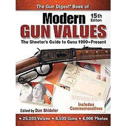 The Gun Digest Book of Modern Gun Values (Paperback)