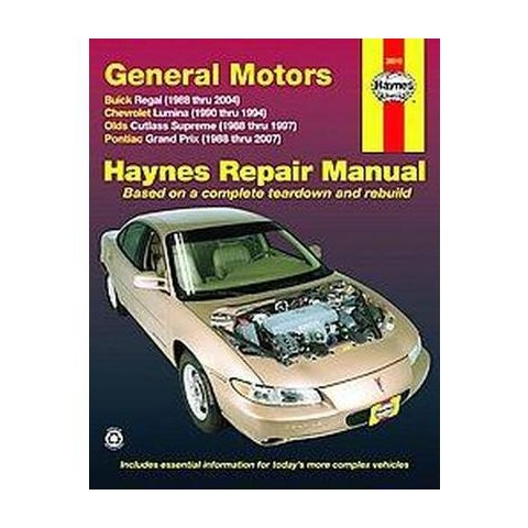 Haynes Repair Manual General Motors Buic ( Haynes Automotive Repair Manual) (Paperback)