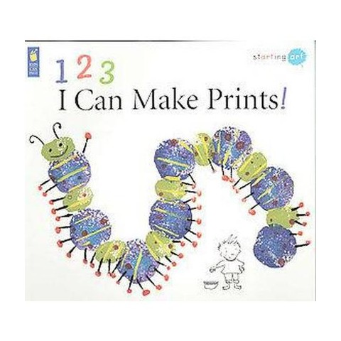 123 I Can Make Prints! (Paperback)