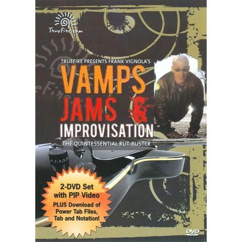 Frank Vignola: Vamps, Jams & Improvisation
