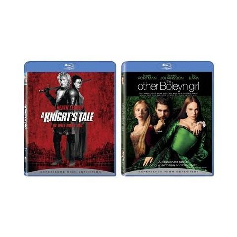 A Knight's Tale/The Other Boleyn Girl Blu-Ray - 2 Pack