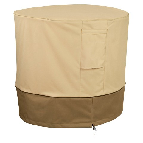 Air Conditioner Cover - Beige/Brown