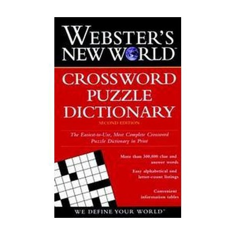 Webster's New World Crossword Puzzle Dictionary (Paperback)