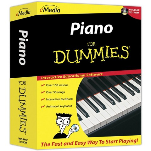 Piano for Dummies for PC/Mac CD