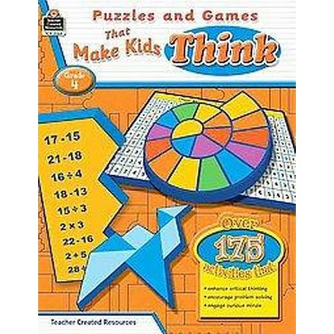 Puzzles and Games That Make Kids Think! ( Puzzles and Games) (Paperback)