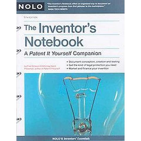 Inventor's Notebook (Paperback)