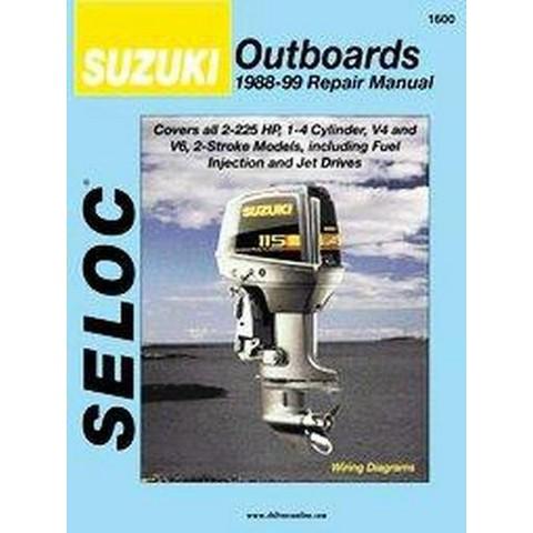 Suzuki Outboards 1988 03 Repair Manual Seloc M Target