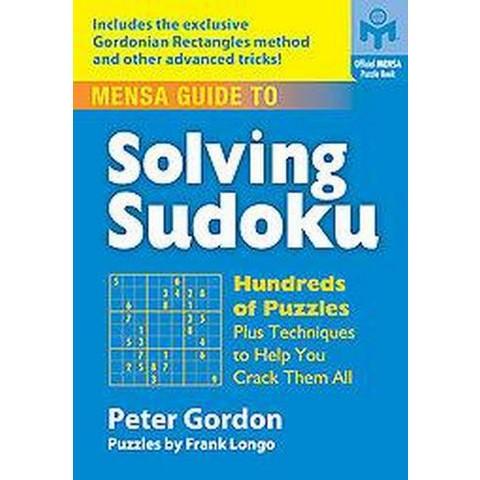 Mensa Guide to Solving Sudoku (Paperback)