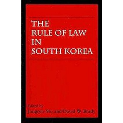The Rule of Law in South Korea (Paperback)