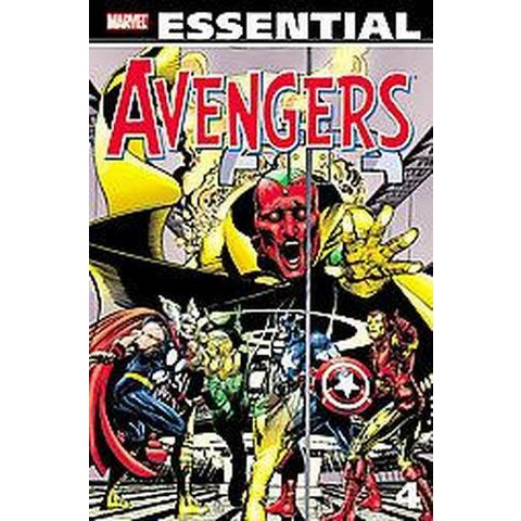 Essential Avengers 4 (Paperback)