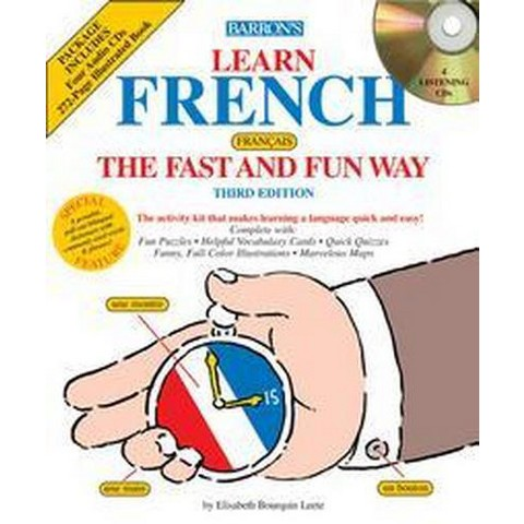 Learn French the Fast and Fun Way (Mixed media product)