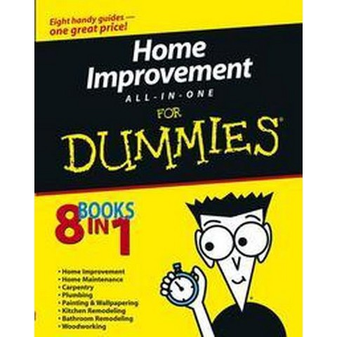 Home Improvement All-In-One for Dummies (Paperback)