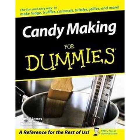 Candy Making For Dummies ( For Dummies Series) (Paperback)