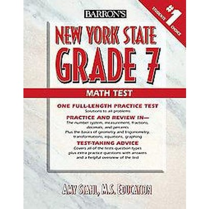 Barron's New York State Grade 7 Math Test (Paperback)